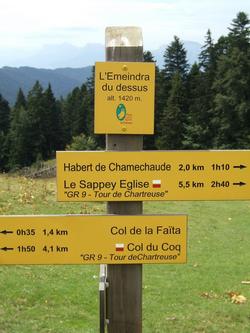 balisage-randonnee-pedestre-chartreuse-GR9
